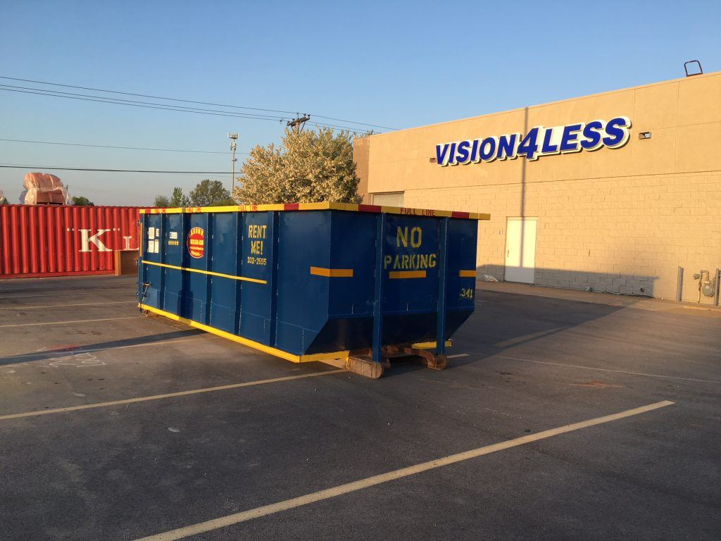 30 Cubic Yard Dumpster-Greeley's Main Dumpster Rental Services