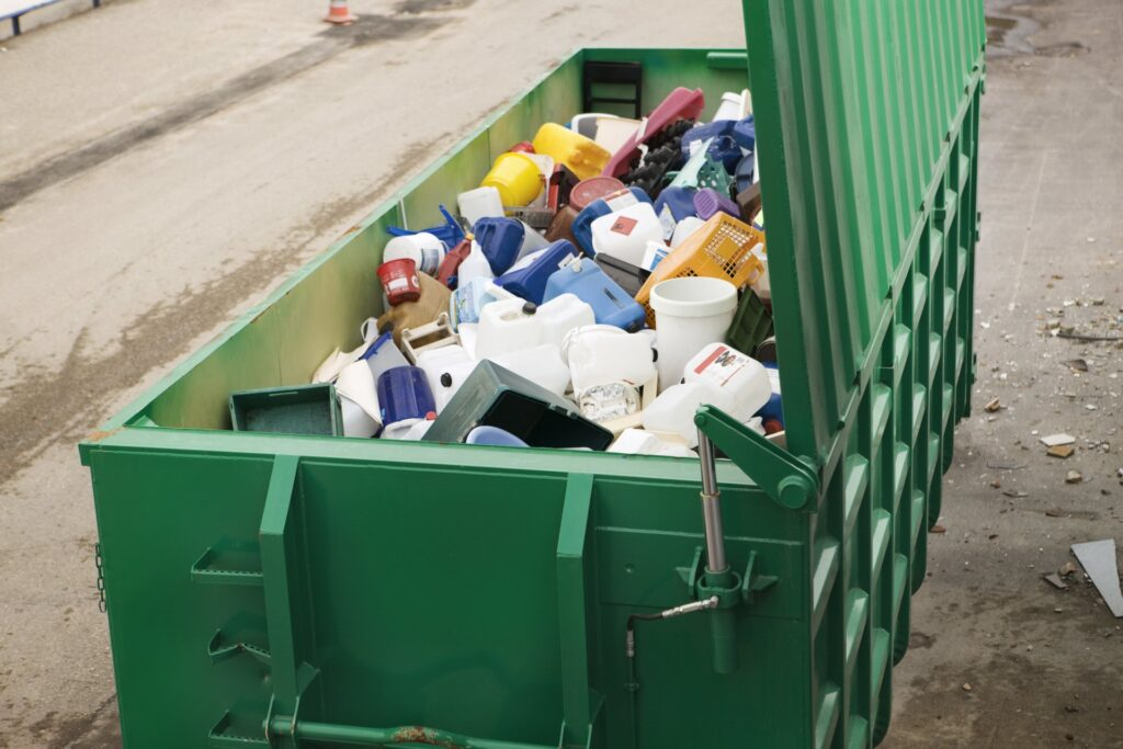 Bathroom Remodel Dumpster Services-Greeley's Main Dumpster Rental Services