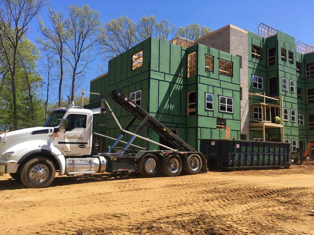 Commercial Demolition Dumpster Services-Greeley's Main Dumpster Rental Services