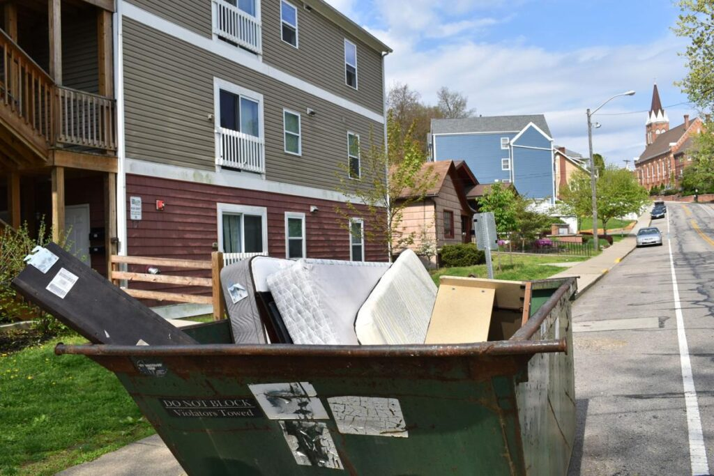 Home Moving Dumpster Services-Greeley's Main Dumpster Rental Services