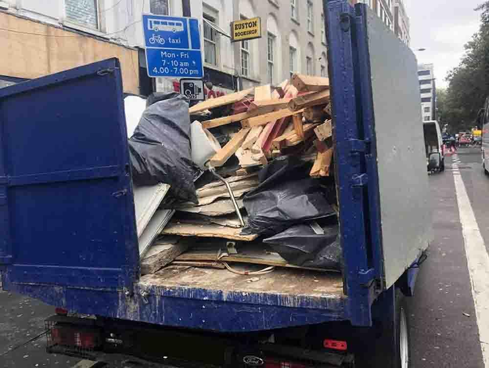 Light Demolition Dumpster Services-Greeley's Main Dumpster Rental Services