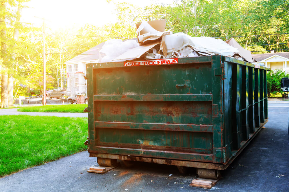 Property Cleanup Dumpster Services-Greeley's Main Dumpster Rental Services
