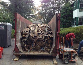 Residential Demolition Dumpster Services-Greeley's Main Dumpster Rental Services