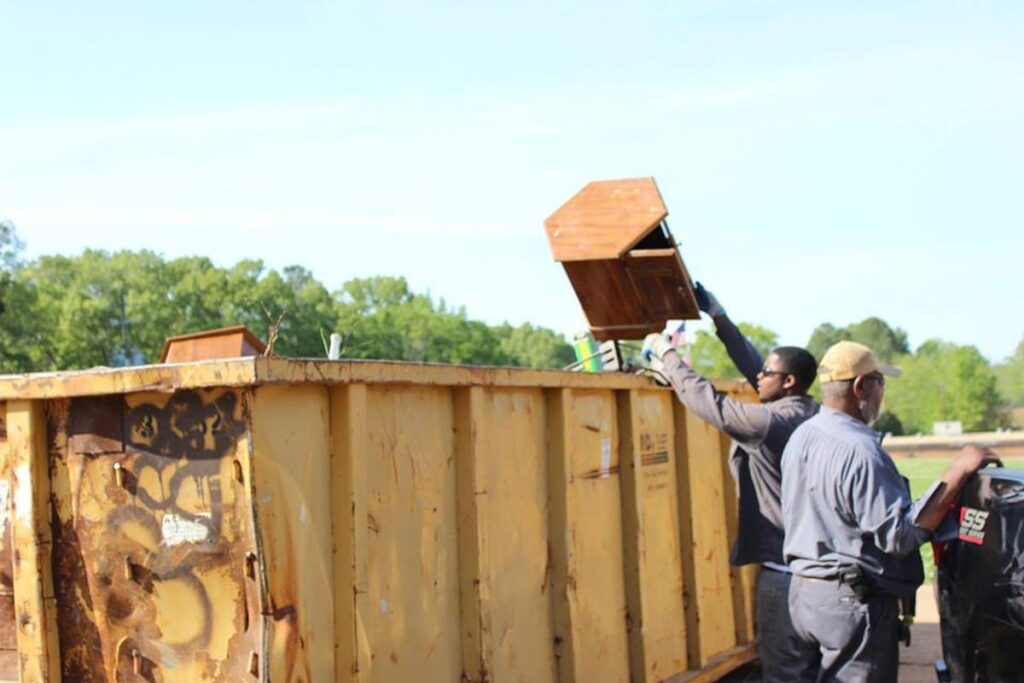 Storm Cleanup Dumpster Services-Greeley's Main Dumpster Rental Services