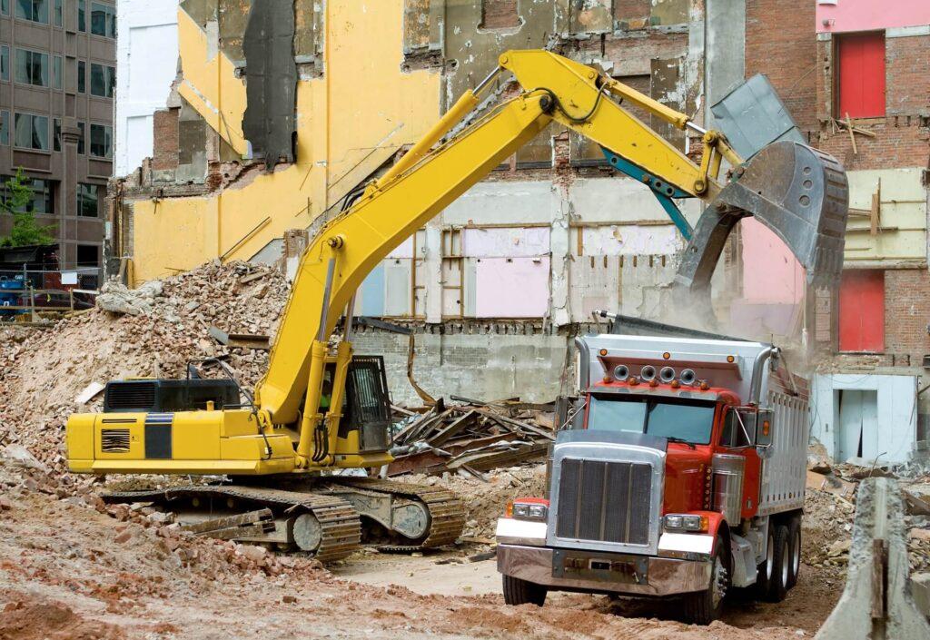 Structural Demolition Dumpster Services-Greeley's Main Dumpster Rental Services